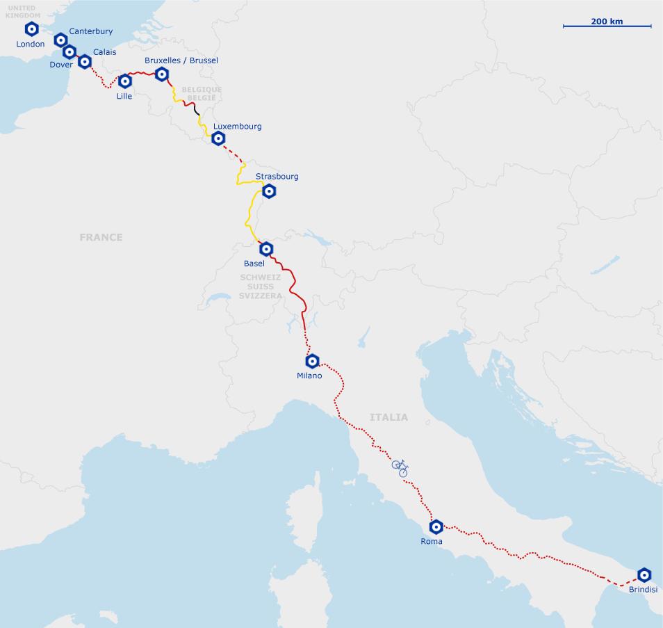 Eurovelo 5